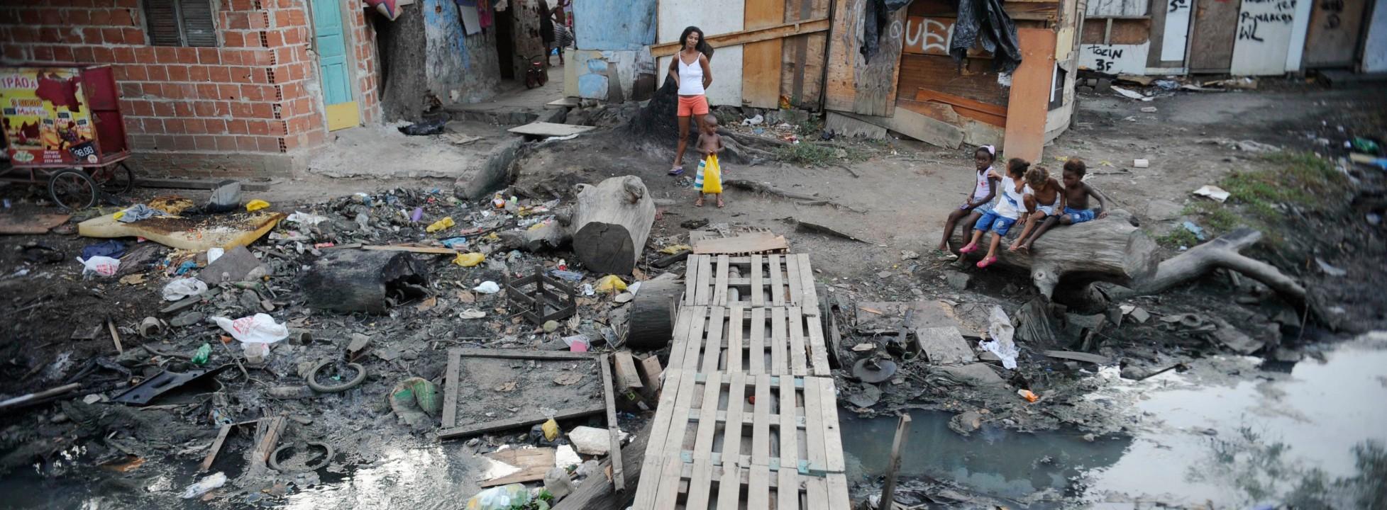 Saneamento Básico, obra de infraestrutura de água e esgoto