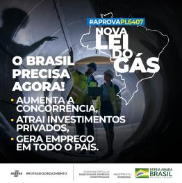 imagem de trabalhadores e mapa do brasil representando a necessidade de aumentar a concorrência e atrair investimentos