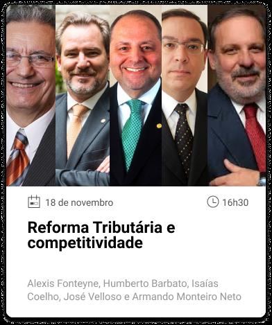 Alexis Fonteyne, Humberto Barbato, Isaías Coelho, José Velloso e Armando Monteiro Neto Texto alternativo da sua imagem