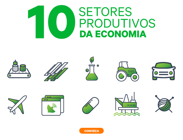 10 setores produtivos da economia