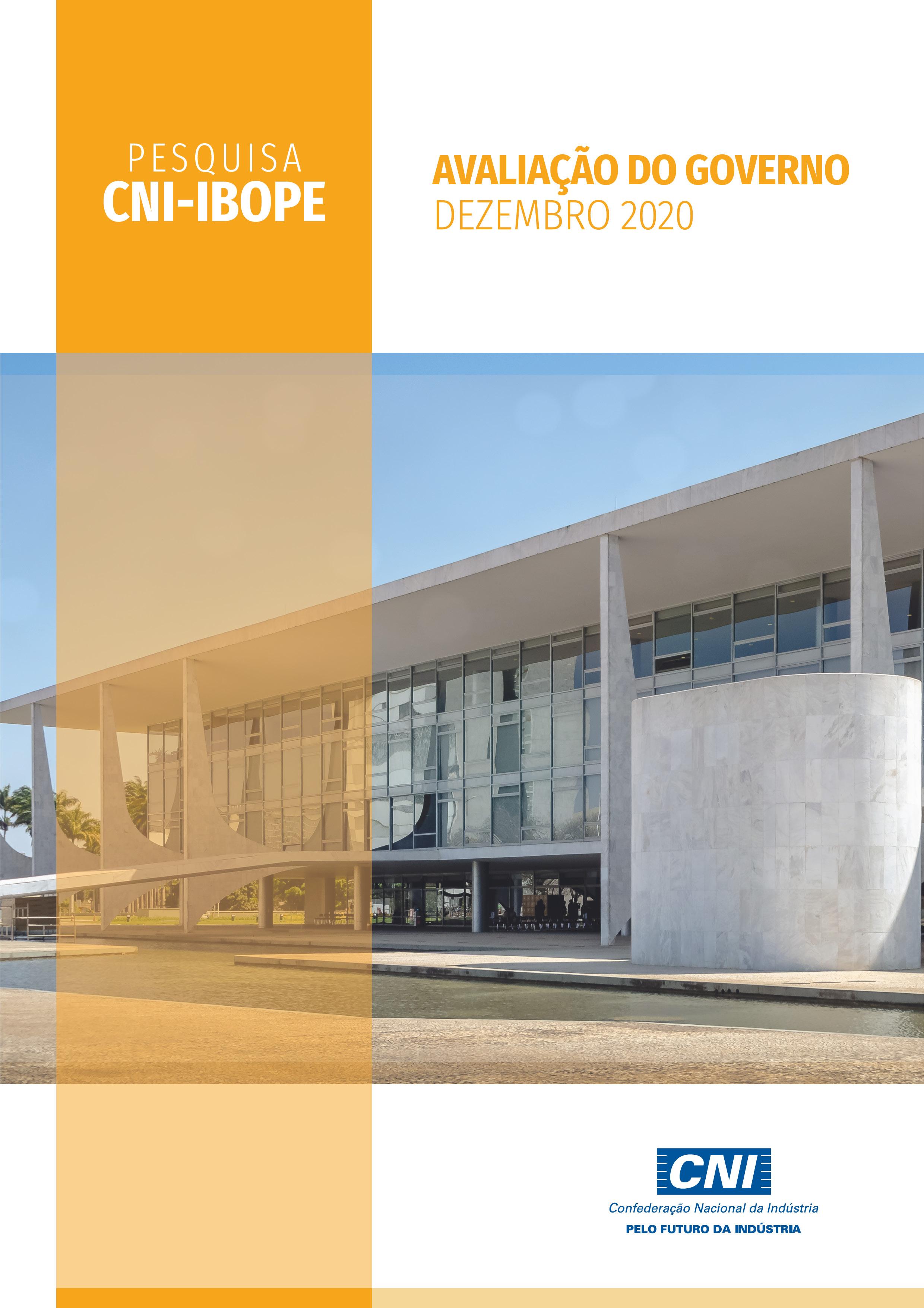 Pesquisa CNI-IBOPE: Avaliação do Governo