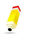 Ícone lápis de lego