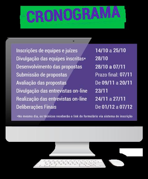 Cronograma do Desafio Relâmpago - Volta às Aulas Texto alternativo da sua imagem