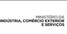 icone do Ministério da Indústria, Comério Exterior e Serviços representando o mesmo