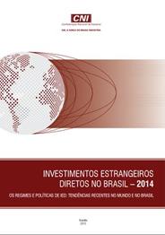 Publicação: Investimentos Estrangeiros Diretos no Brasil - 2014