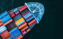 Imagem de um barco representando exportação passo a passo
