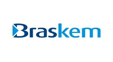 logo da empresa Braskem representando a mesma