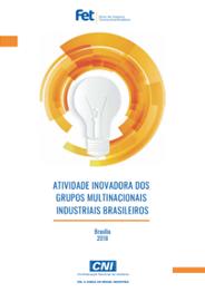 Publicação Atividade Inovadora dos Grupos Multinacionais Industriais Brasileiros 2018
