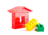 Ícone casa de lego