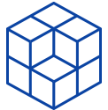 ícone de cubo