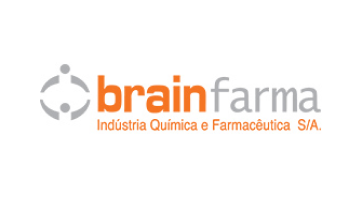 logo da Companhia BrainFarma representando a mesma