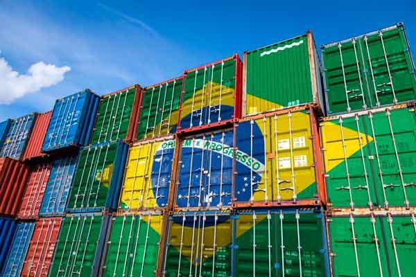 Economia brasileira, exportacoes e comercio exterior
