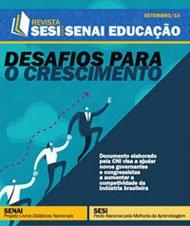 Revista SESI SENAI Educação - Capa de SETEMBRO/2014