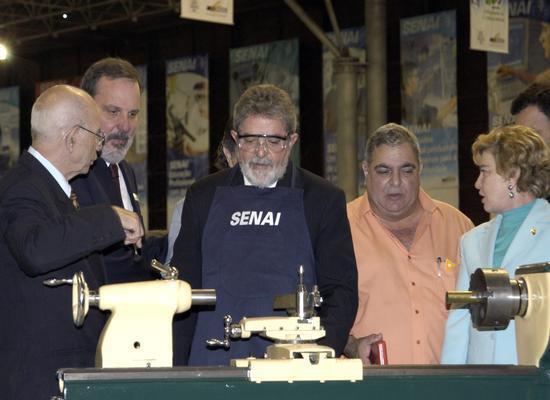 Visita do Presidente Lula à Olimpíada do Conhecimento 2004