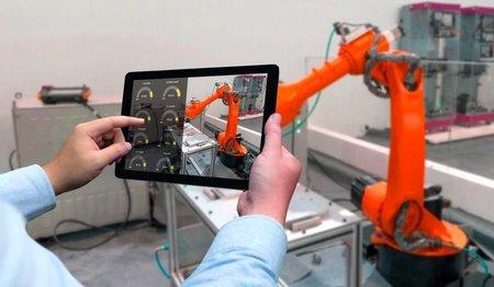 Indústria 4.0 interação entre trabalhadores e tecnologia
