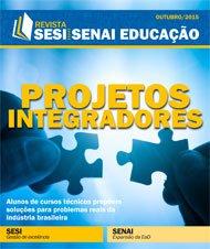 Revista SESI SENAI Educação - Capa de OUTUBRO/2015