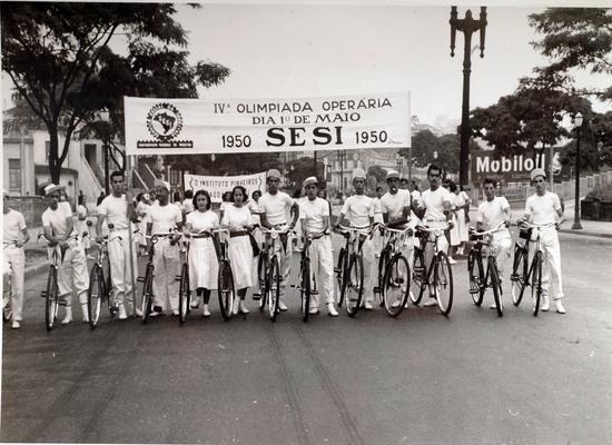 Olimpíada Operária do SESI, em 1950
