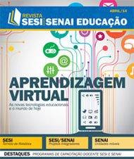 Revista SESI SENAI Educação - Capa de ABRIL/2014