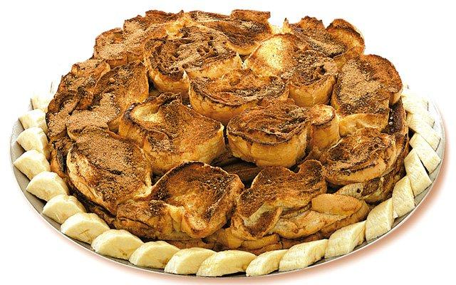 Torta de pão com banana