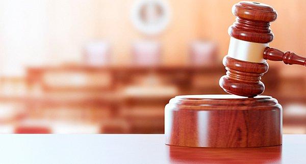 imagem de um malhete de Juíz, representando justiça