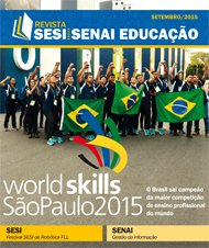 Revista SESI SENAI Educação - Capa de SETEMBRO/2015