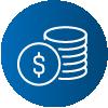 ícone de moedas
