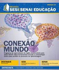 Revista SESI SENAI Educação - Capa de MARÇO/2014