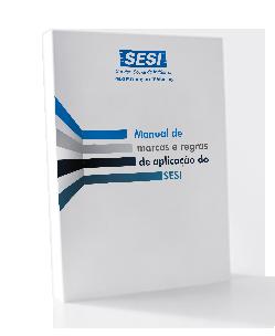 Capa manual de marcas da SESI