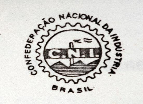 Logomarca histórica da CNI