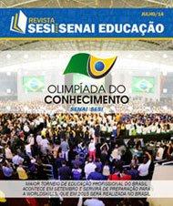 Revista SESI SENAI Educação - Capa de JULHO/2014