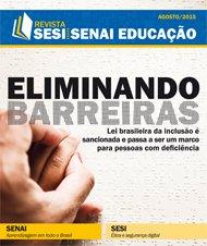 Revista SESI SENAI Educação - Capa de AGOSTO/2015
