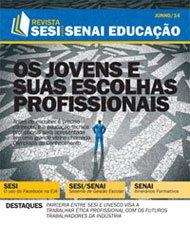 Revista SESI SENAI Educação - Capa de JUNHO/2014