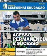 Revista SESI SENAI Educação - Capa de MAIO/2014