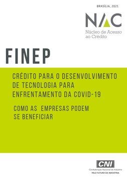 FINEP - Crédito para o Desenvolvimento de Tecnologia para Enfrentamento da COVID-19