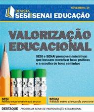 Revista SESI SENAI Educação - Capa de NOVEMBRO/2014