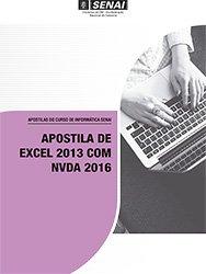 Apostila De Excel 2013 Com Nvda 2016 Pagina