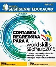 Revista SESI SENAI Educação - Capa de MAIO/2015