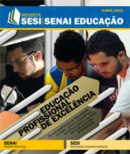 Revista SESI SENAI Educação - Capa de JUNHO/2015