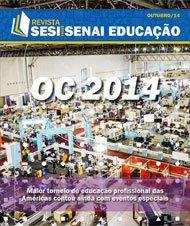 Revista SESI SENAI Educação - Capa de OUTUBRO/2014