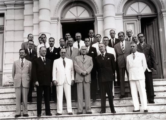 Conselho Nacional do SESI, em 1946