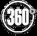 icone do número 360 representando visitas técnicas e networking