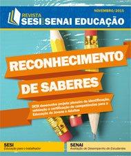 Revista SESI SENAI Educação - Capa de NOVEMBRO/2015