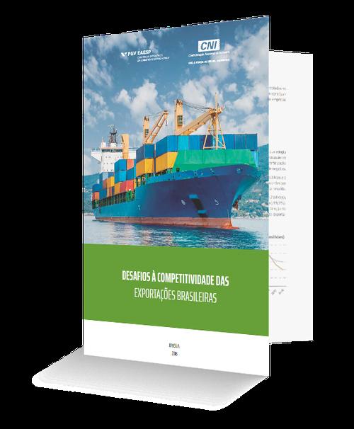 Capa da pesquisa Desafios à Competitividade das Exportações Brasileiras 2018Desafios à Competitividade das Exportações Brasileiras 2018