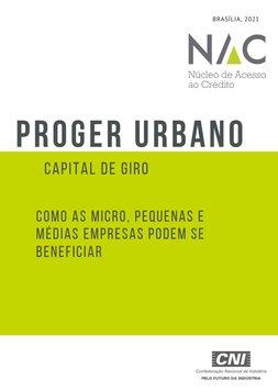 PROGER URBANO - Capital de Giro