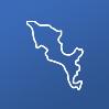 Ícone america central e caribe