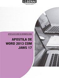 Apostila De Word 2013 Com Jaws 17 Pagina