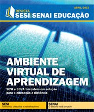 Revista SESI SENAI Educação - Capa de ABRIL/2015