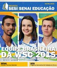 Revista SESI SENAI Educação - Capa de JULHO/2015