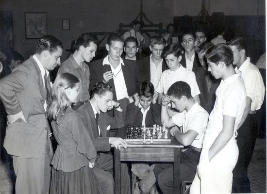Torneio de xadrez no SESI/SP