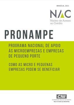 PRONAMPE -  Programa Nacional de Apoio às Micro e Pequenas Empresas